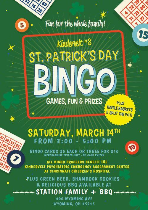 St. Pat's Bingo